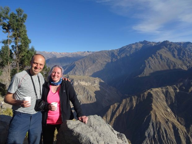 Top of the Colca Canyon