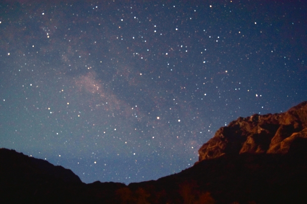 Stars on the Inca trail