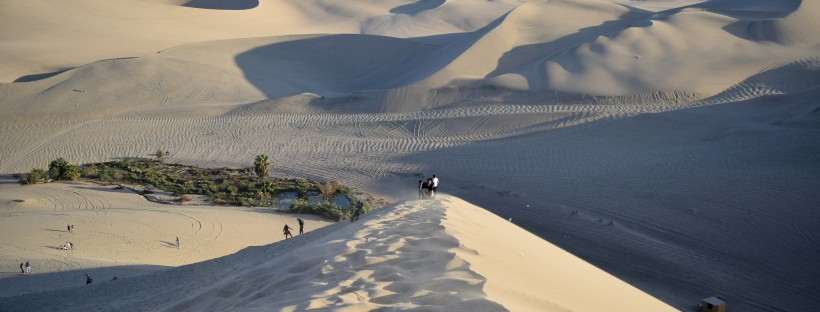 Dunes in Huacachina